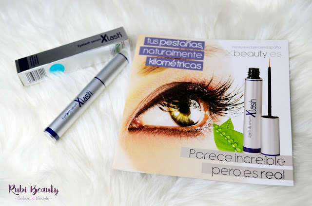 review opinion real antes y despues xlash serum crece pestañas