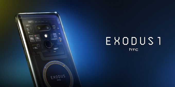 HTC Exodus 1 announced - A blockchain smartphone with flagship specs and a Bitcoin price
