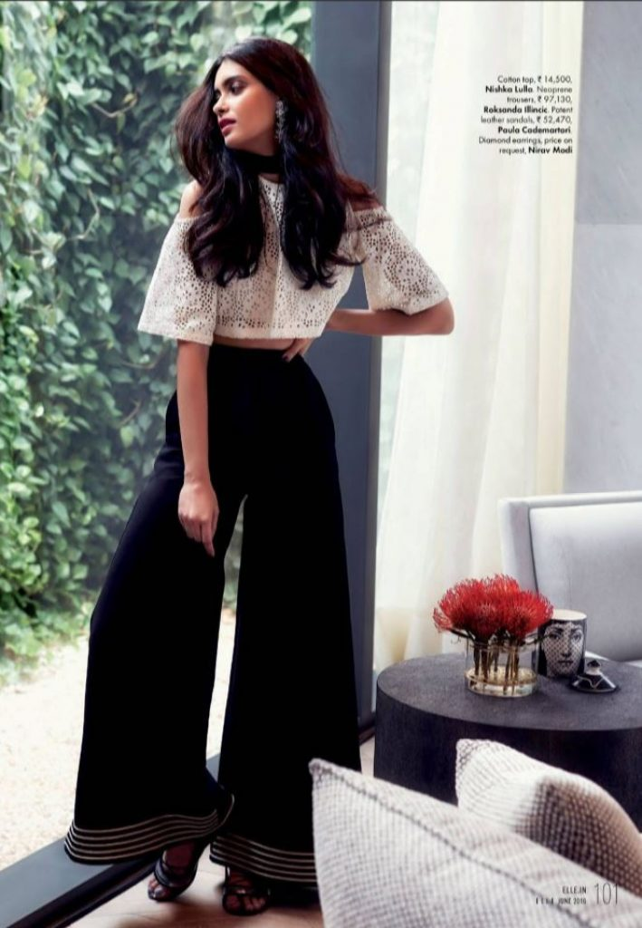 Diana Penty Looks Stunning As The Cover Girl Of Elle -9328