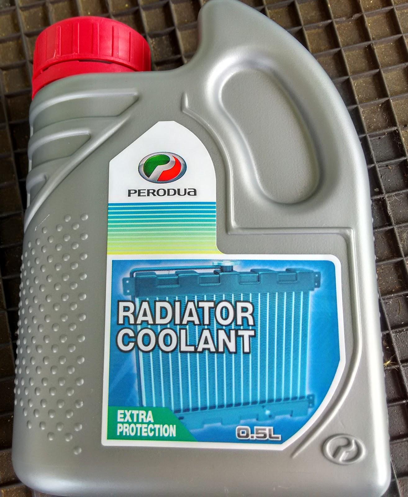 Perodua Bezza 2016 Engine Coolant Color Radiator Premix05 Litre Liquid Is Red In