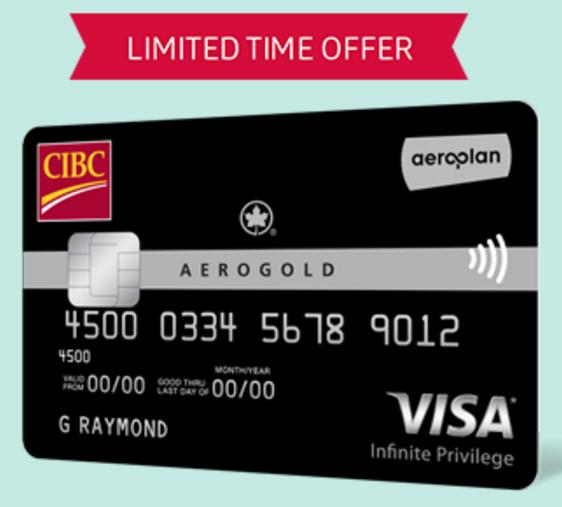 Td Visa Infinite >> Canadian Rewards: CIBC Aerogold Visa Infinite Privilege ...