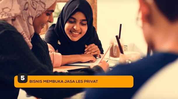 5. Bisnis Membuka Jasa Les Privat