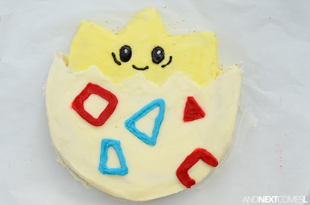 Togepi Pokemon birthday cake ideas
