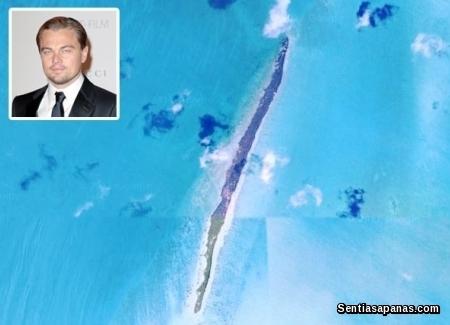 Leonardo diCaprio - Blackadore Cay, Belize