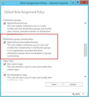 Default Role Assignment Policy