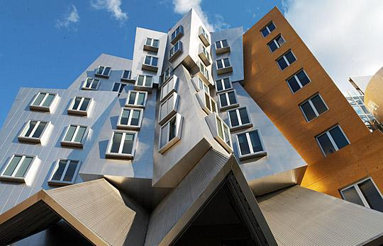 Ray and Maria Stata Center, MIT University a golpe de objetivo