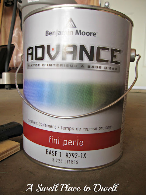 Benjamin Moore Advance - How to Paint Kitchen Cabinets