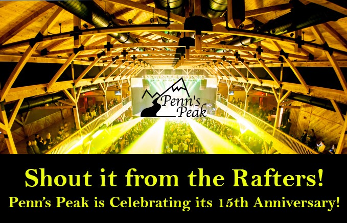 skook news penns peak celebrating anniversary with 15