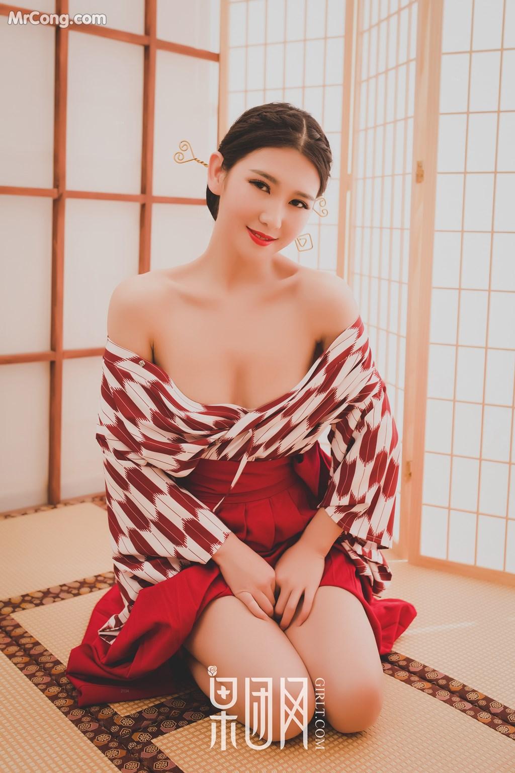 Image GIRLT-No.115-MrCong.com-005 in post GIRLT No.115 (51 ảnh)