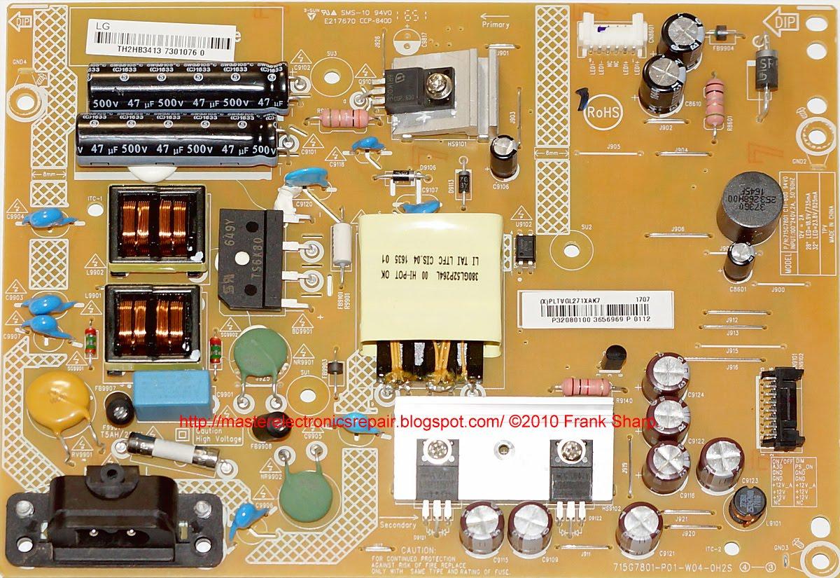 Main Power Supply Board TP.MS3553.PB765 32LJ5000-UB for LG TV ...