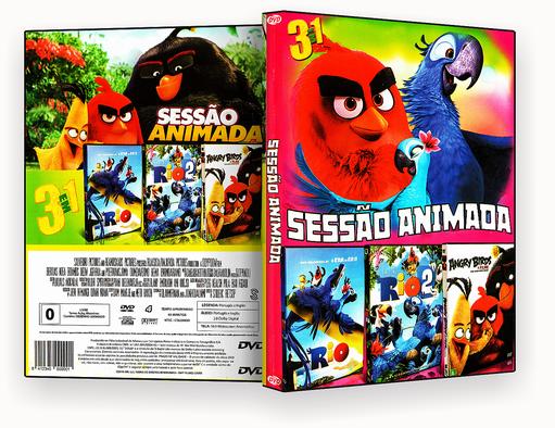 CAPA DVD – Sessao Animada 3 Em 1 Vol.1 – ISO