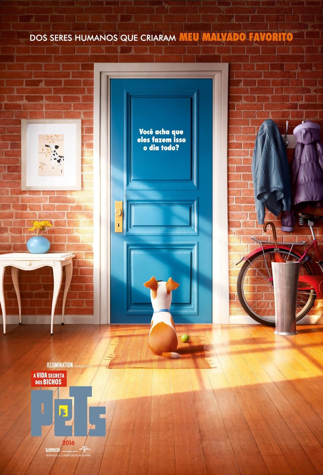 Imagens Pets A Vida Secreta dos Bichos Torrent Dublado 1080p 720p BluRay Download
