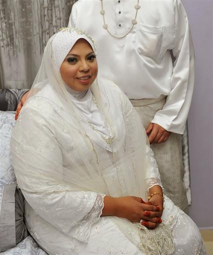 Contoh Koleksi Baju Pengantin Muslimah Berbadan Gemuk