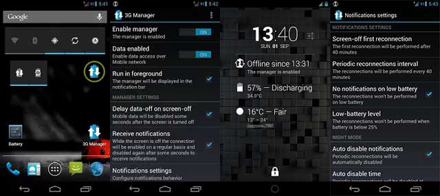 3G Manager - Battery saver apk android