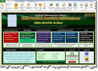 Download Aplikasi Rapor Kurikulum 2013 SMP,MTs,SMA,MA Permen 23 Tahun 2016