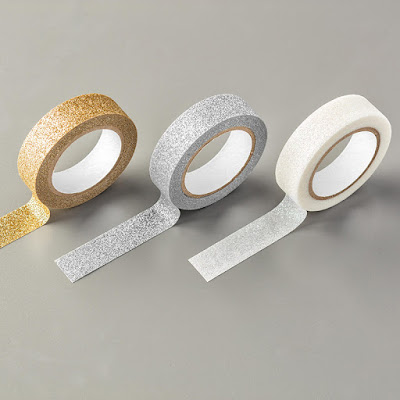 Glitter Tape free during Sale-a-Bration - get your extra freebies while you can.  Ends 31 March 2016