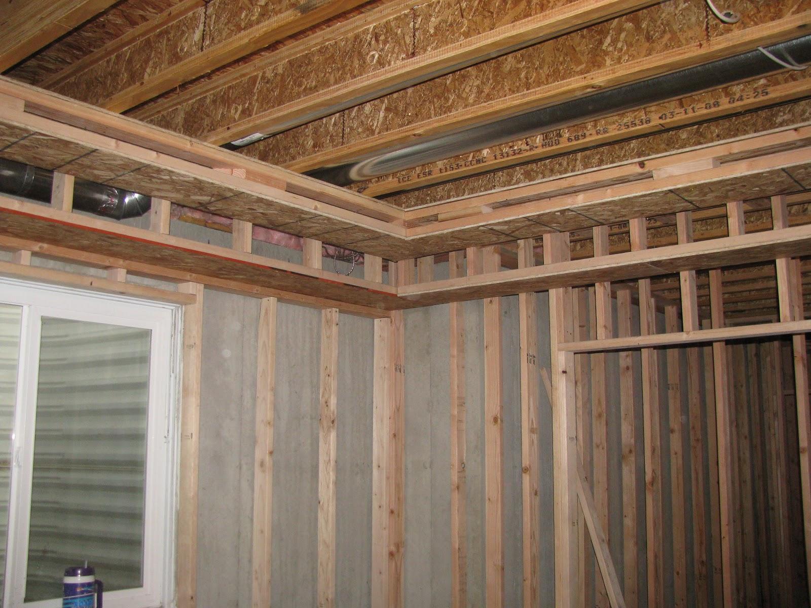 Stepped Ceiling Framing | Integralbook.com