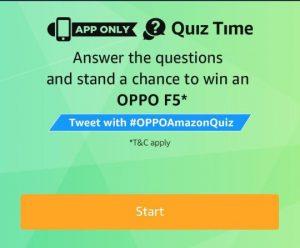 AMAZON-15TH MARCH QUIZ ANSWERS: WIN ₹75000 - dargowhar