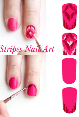 Do It Yourself Nail Designs: PoshTheSocialite: Spring Time Do-It-Yourself Nail Art