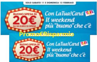 Logo Spendi&Riprendi Auchan un buono spesa da 20 euro