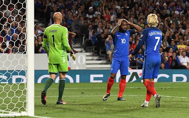 Sốc: Pháp bị đội bét bảng Luxembourg cầm chân