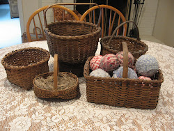 Antique Baskets....
