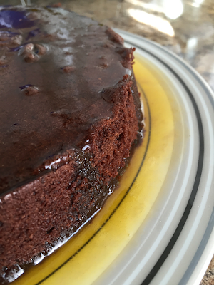 Gluten Free Chocolate Cake with Maple Butter Syrup