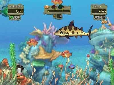 Download feeding frenzy 2 shipwreck showdown game   shark games.