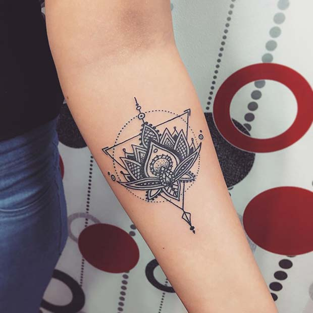 27 Best Unique Triangle Tattoos Ideas Pretty To Rock Fashionuki
