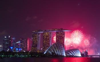Wallpaper: Marina Bay, Singapore