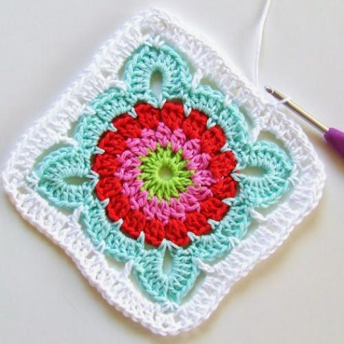 Beautiful Granny Square - Free Pattern