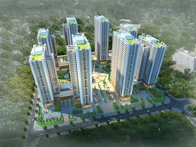 quy mô dự án an bình city