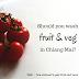 Should you wash fruit & vegetables in Thailand?