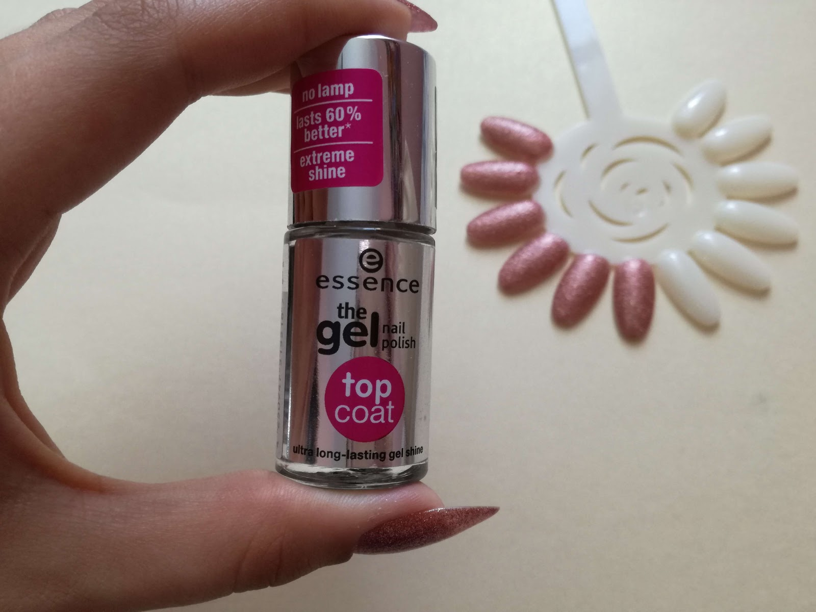 essence gel top coat