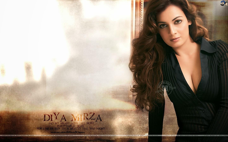 Diya Mirza Hot Sexy Boobs Naked, Bollywood Actress Diya Mirza Naked -9806