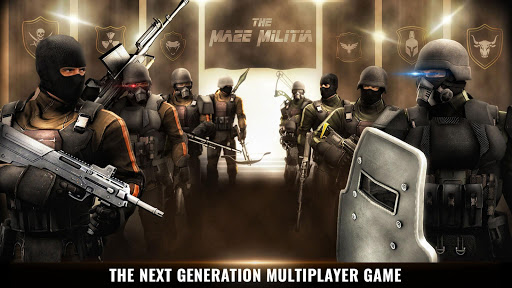 MazeMilitia Online Multiplayer Shooting Game