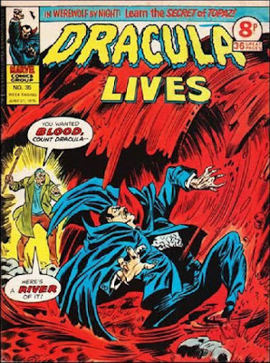 Marvel UK, Dracula Lives #35