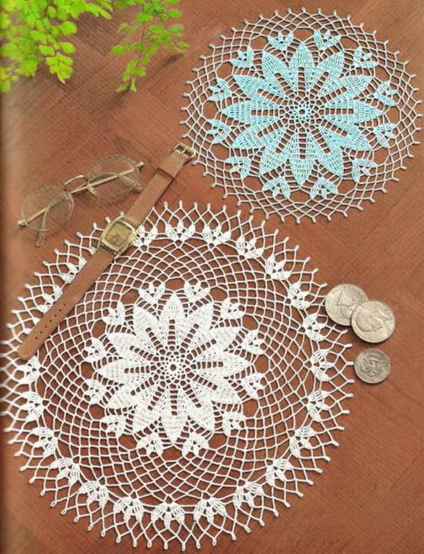 Doilies - Easy Crochet Patterns - For Beginners
