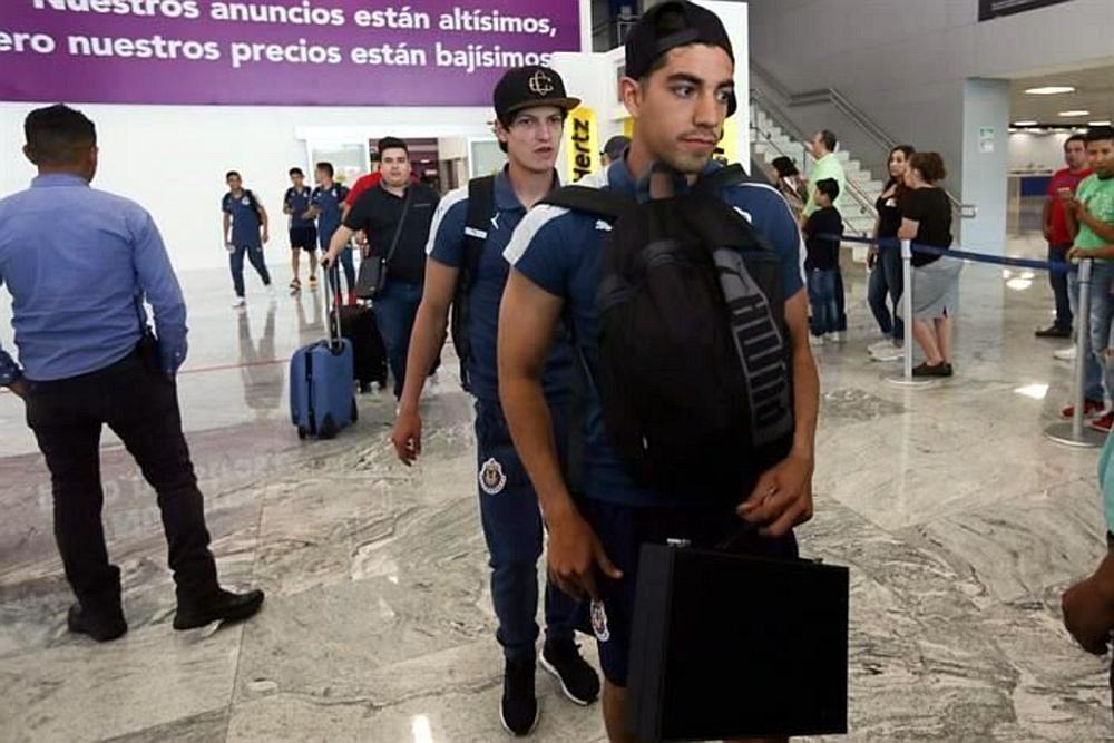 Las Chivas regresaron de Monterrey.