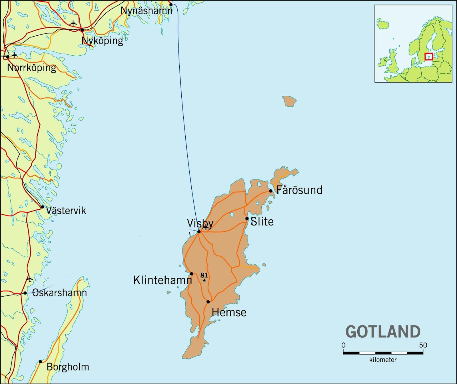 Gotland Island Ferry