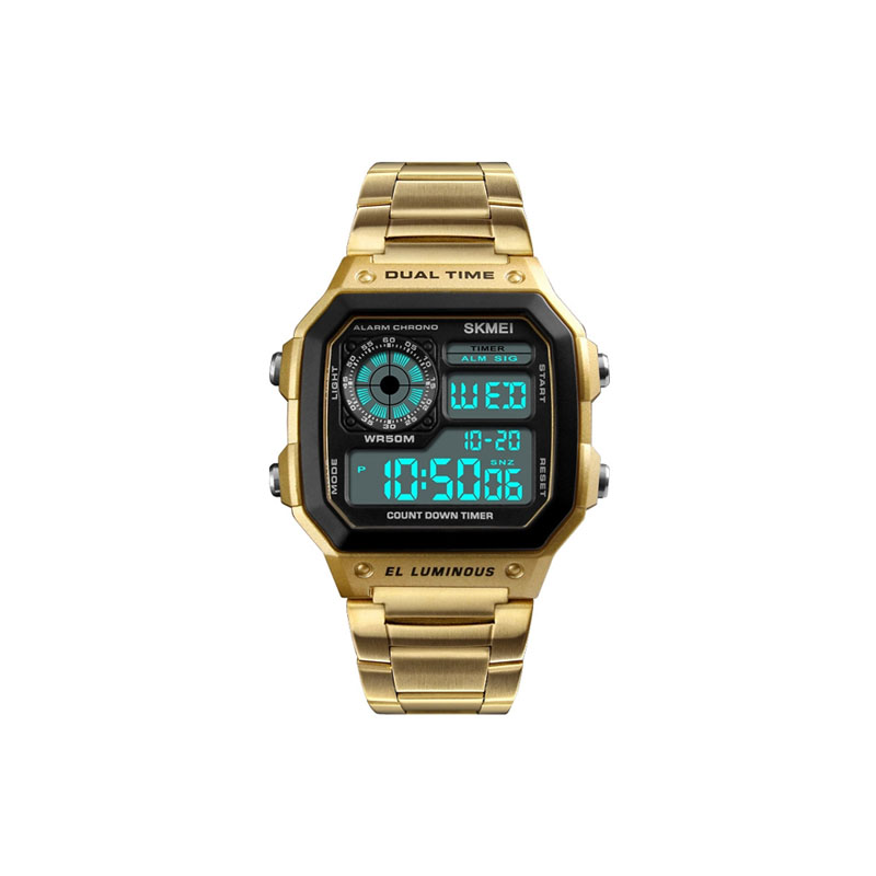 Jam Tangan Digitect Gold