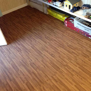 Greatmats wood grain foam tiles playroom