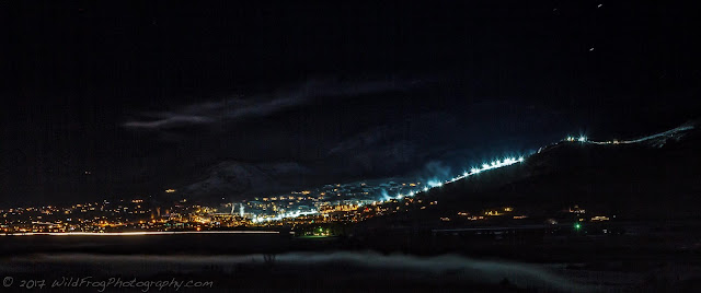 Night Skiing in Steamboat Springs - Colorado