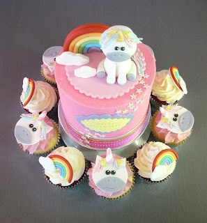 Unicorn Cupcakes Brisbane