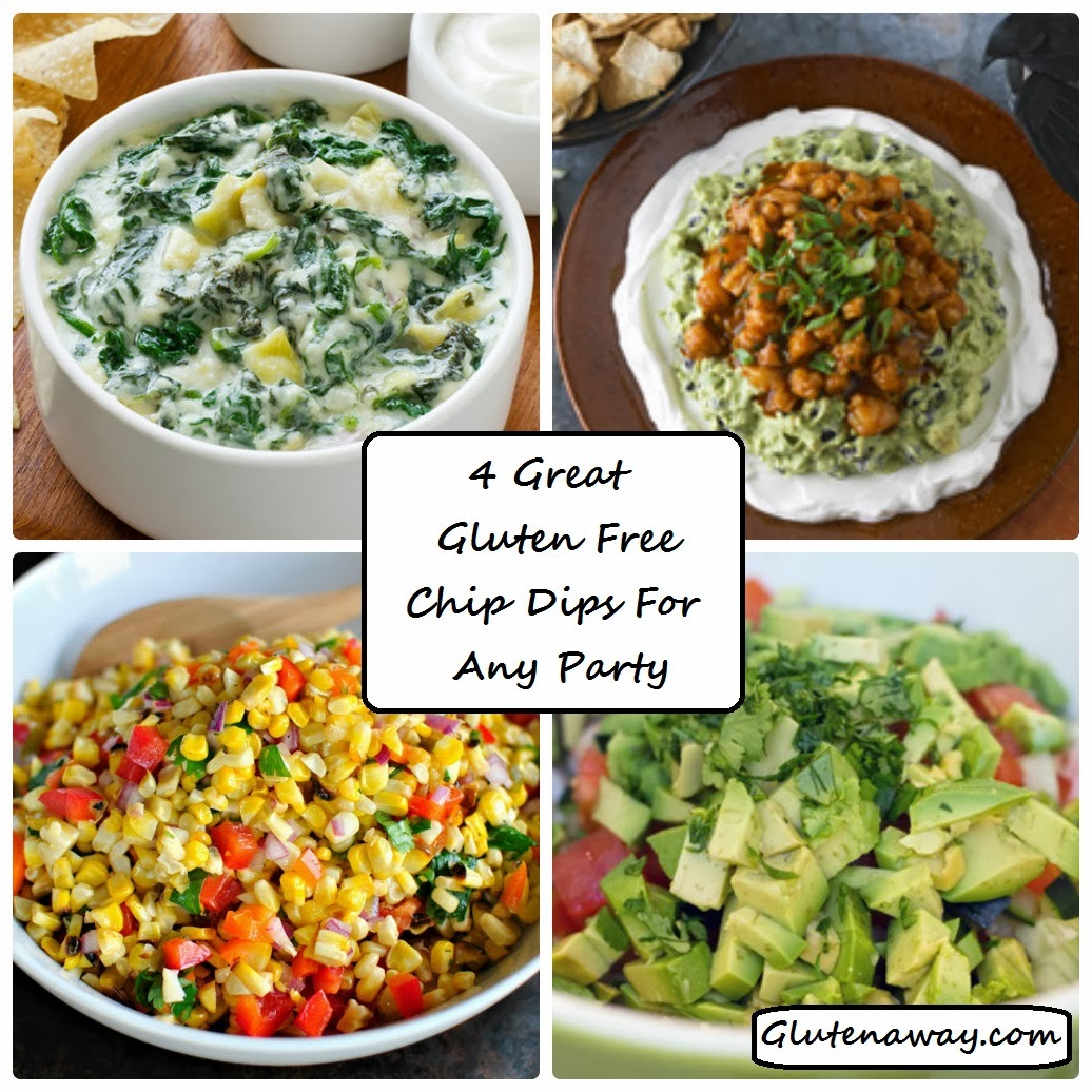 4 Great Gluten Free Chip Dips For Any Party!