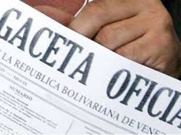 Consulte AVISO EXTRAORDINARIO  en Gaceta oficial Nº6.201 04 de noviembre de 2015