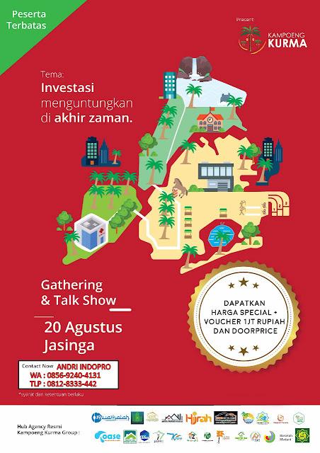 Gathering-Kampung-Kurma-Jasinga-Investasi-Tanah-Kavling-Islami-Kebun-Kurma