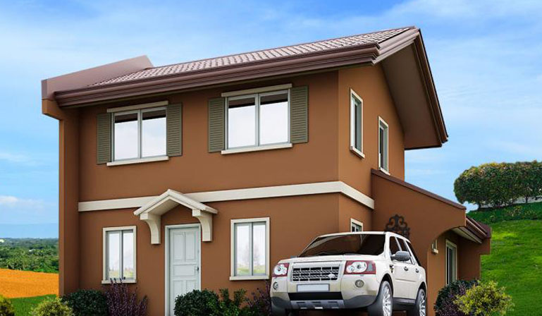 Camella homes camella alta silang ella house and lot for Camella homes design with floor plan