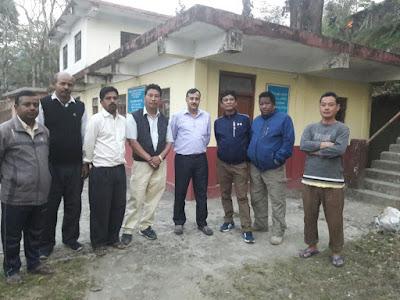 NHPC doctor Ajay Sharma visits Mungpoo