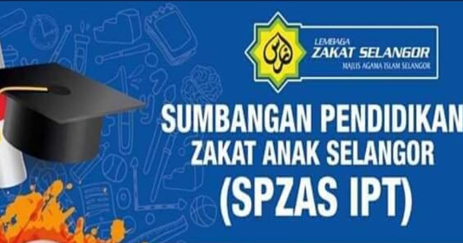 Permohonan Sumbangan Pendidikan Zakat Anak Selangor 2021 Spzas My Panduan